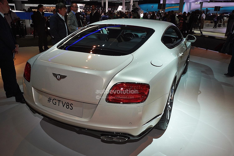 Frankfurt 2013 Bentley Gt V8s And Gtc V8s Live Photos