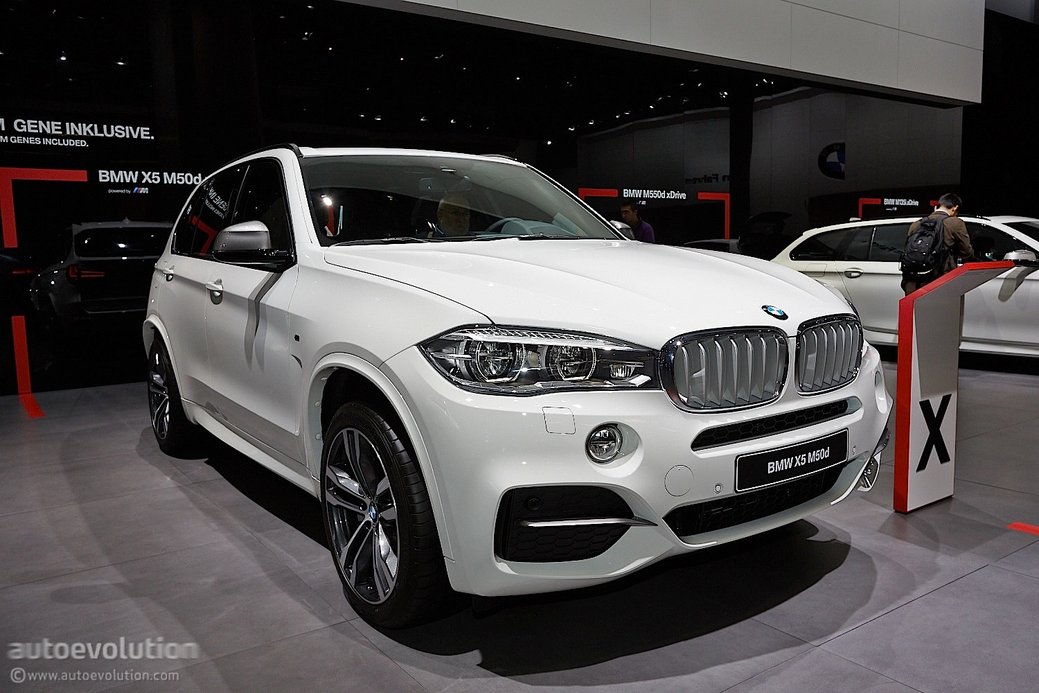 Frankfurt 2013 Bmw F15 X5 World Premiere Live Photos