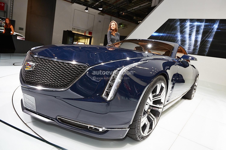 2013 Cadillac Cts Coupe >> Frankfurt 2013: Cadillac Elmiraj Concept [Live Photos] - autoevolution