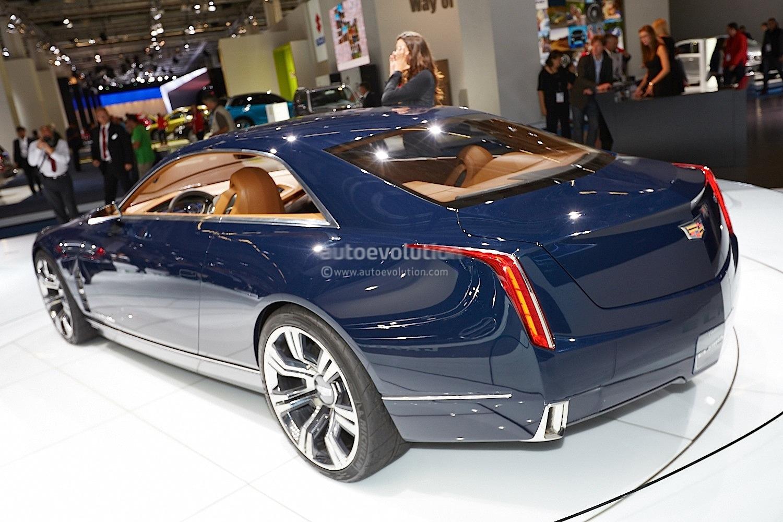 Frankfurt 2013 Cadillac Elmiraj Concept Live Photos