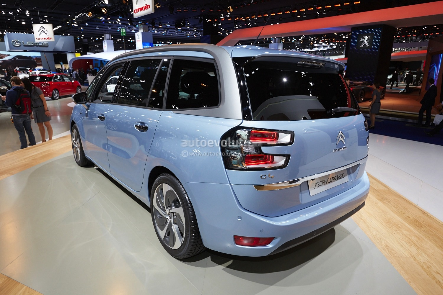 Frankfurt 2013 Citroen C4 Picasso And Grand Picasso Live