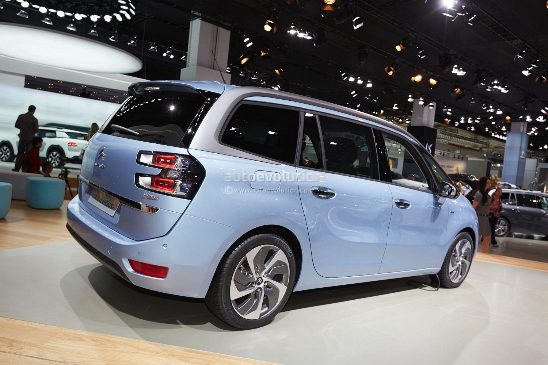 Brand Names Of Cars >> Frankfurt 2013: Citroen C4 Picasso and Grand Picasso [Live Photos] - autoevolution
