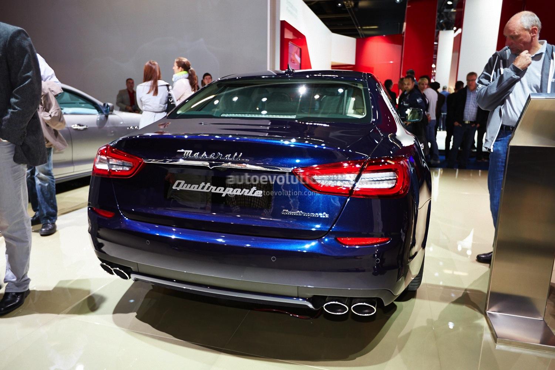 Frankfurt 2013: Maserati Quattroporte Gets V6 Diesel [Live ...