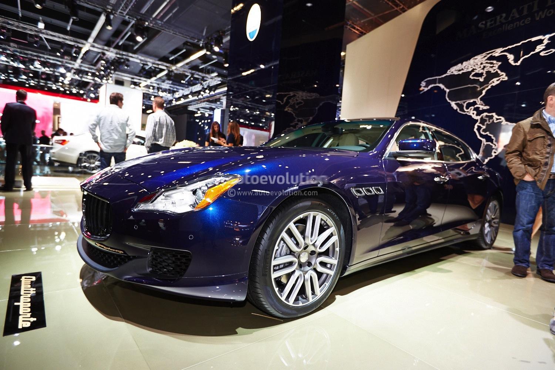 Frankfurt 2013: Maserati Quattroporte Gets V6 Diesel [Live Photos] - autoevolution