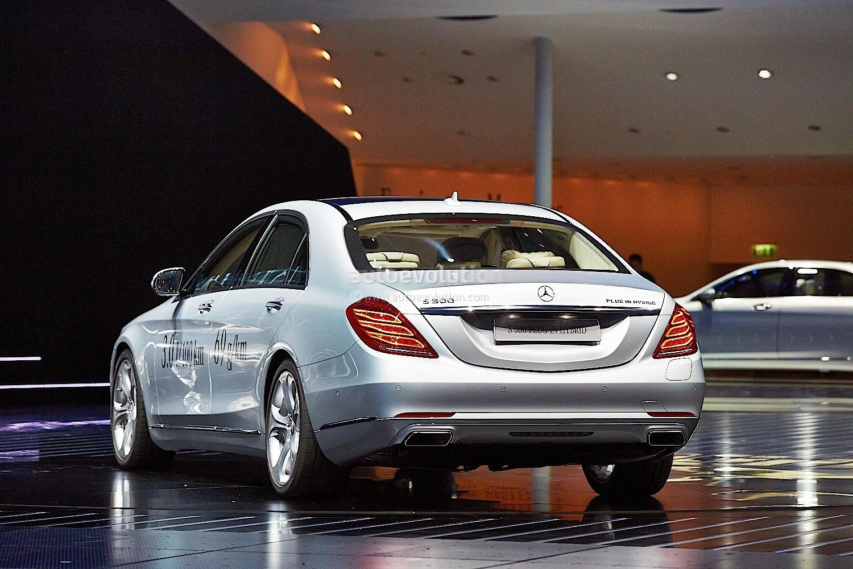 Frankfurt 2013 mercedes s500 plug in hybrid live photos for Mercedes benz hybrids