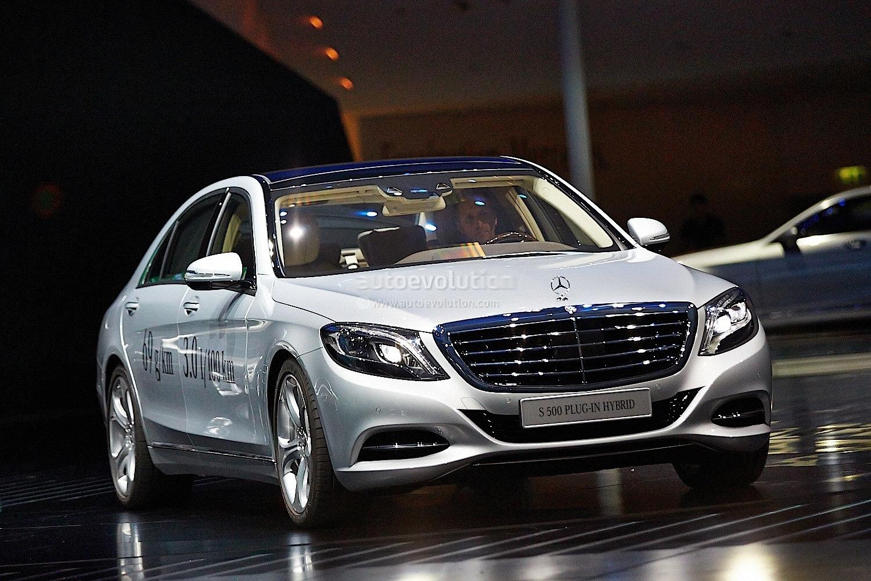 Frankfurt 2013 Mercedes S500 Plug In Hybrid Live Photos