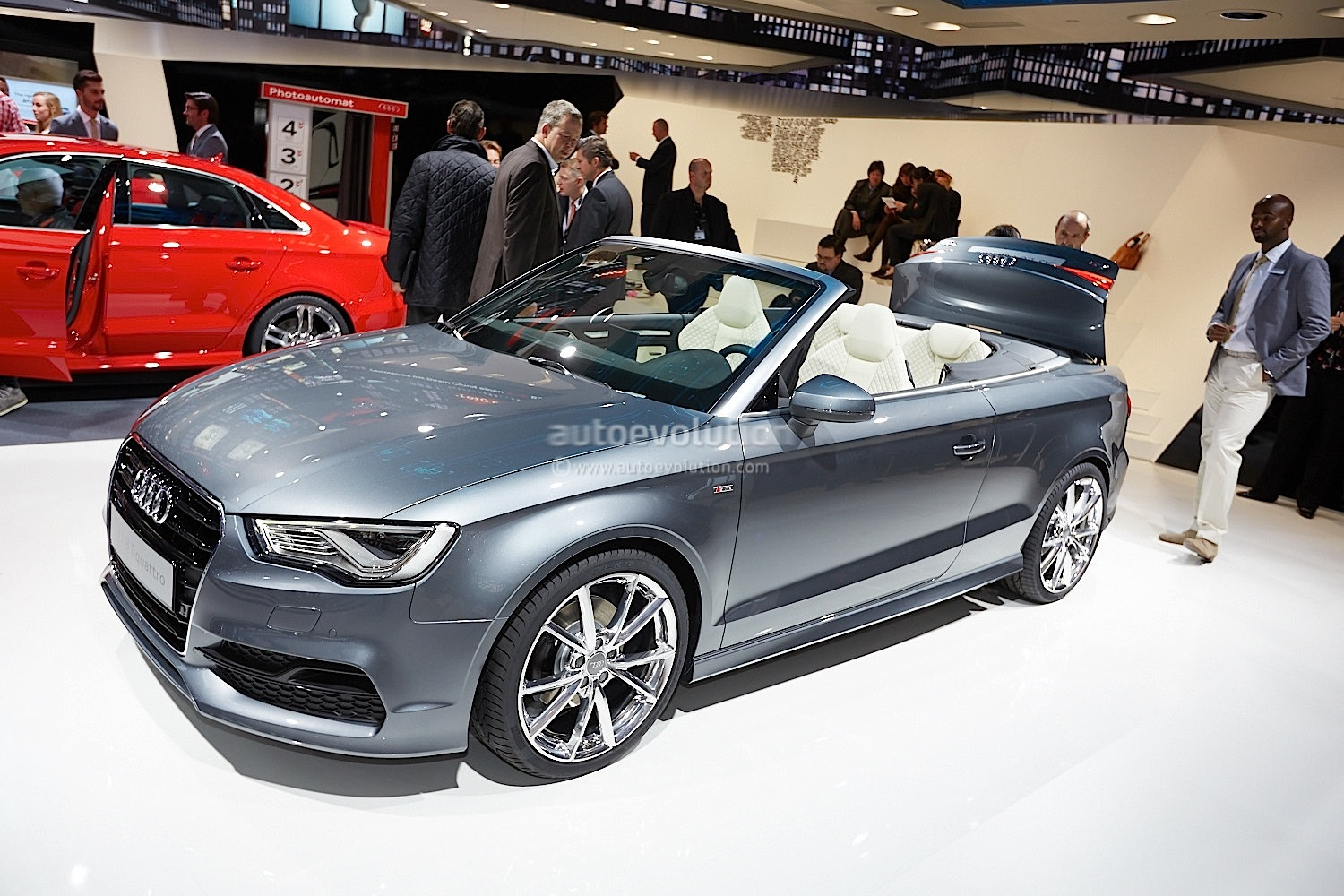 Frankfurt 2013 New Audi A3 Cabriolet Live Photos
