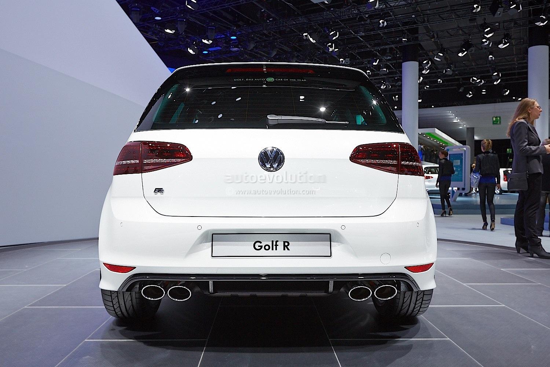 Frankfurt 2013: New Golf R Makes World Debut [Live Photos] - autoevolution