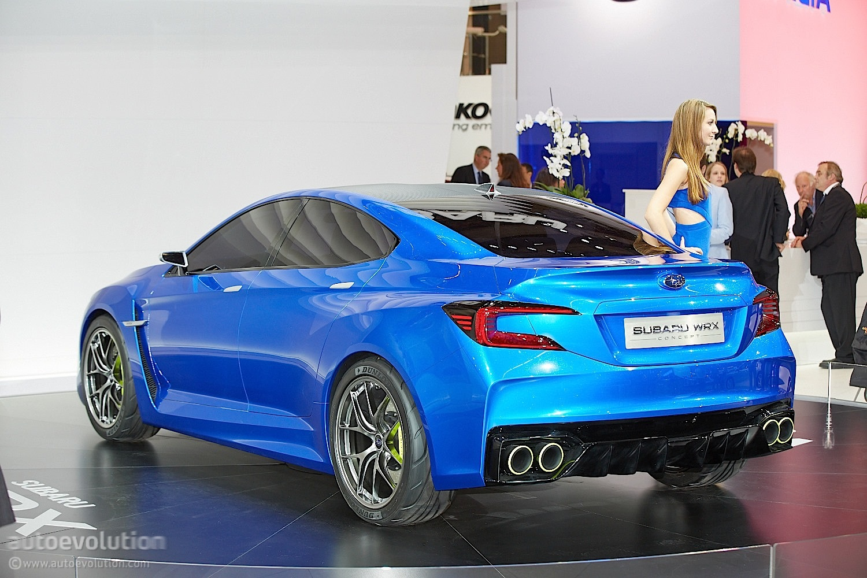 Who Owns Subaru >> Frankfurt 2013 Subaru Wrx Concept Makes European Debut