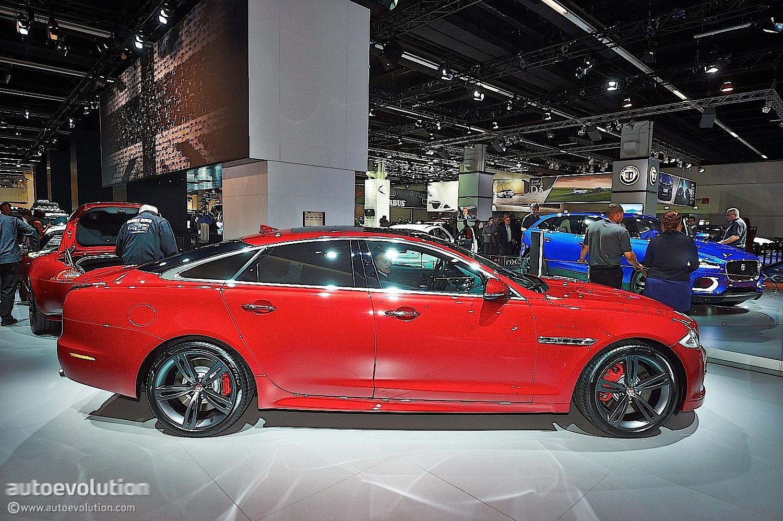 Frankfurt 2013 Updated 2014 Jaguar Xjr Unveiled Live