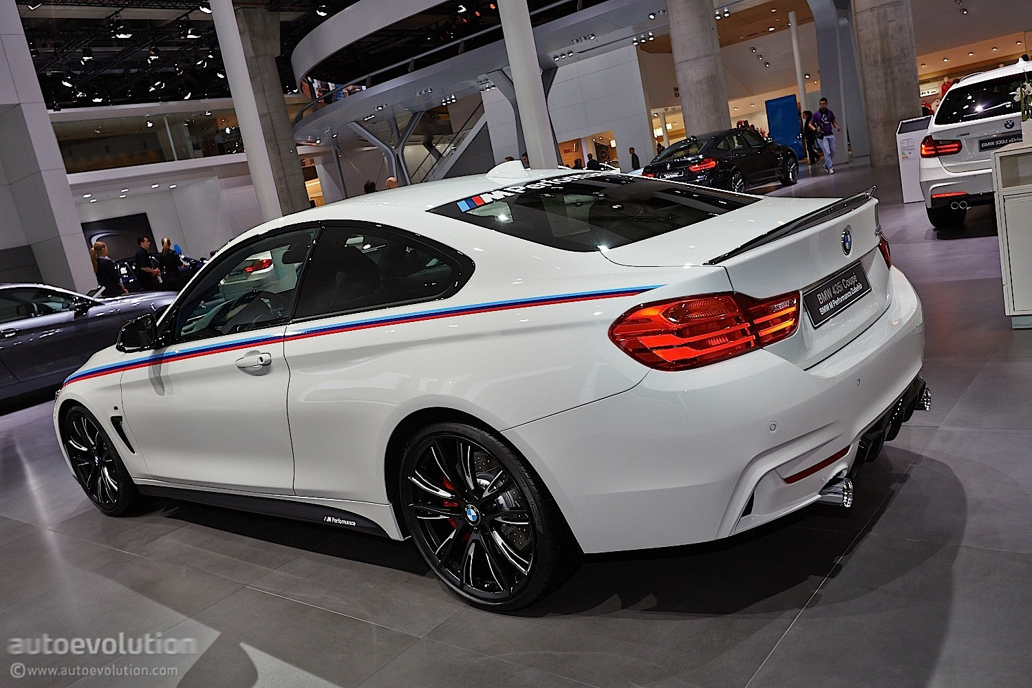 Frankfurt 2013 World Premiere Bmw 4 Series With M
