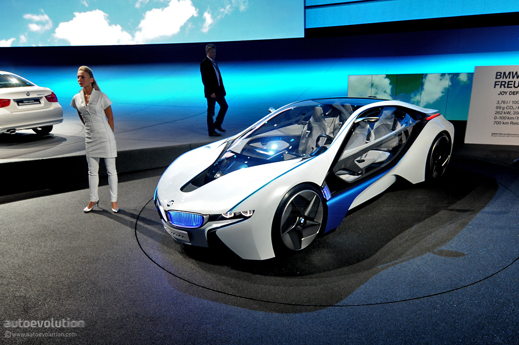 Frankfurt Auto Show Bmw Vision Efficientdynamics Live