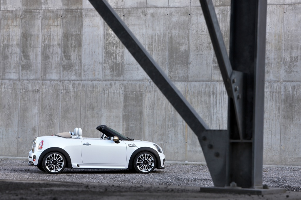 Frankfurt Auto Show Mini Roadster Concept Live Photos Autoevolution