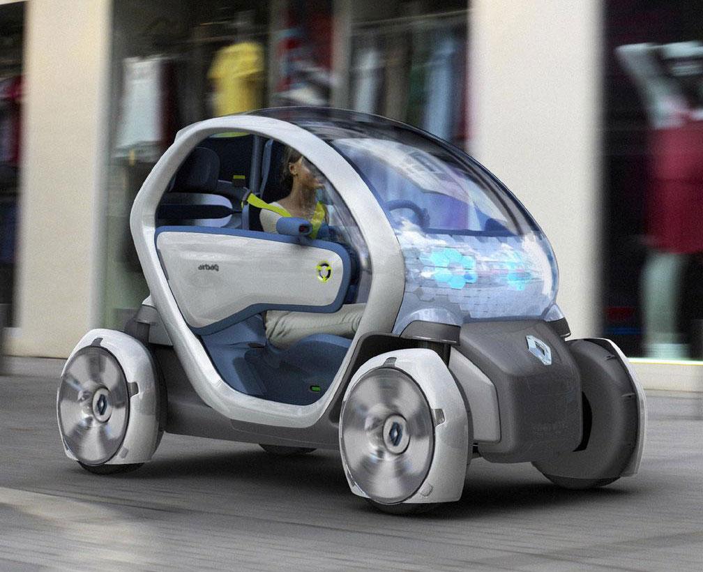 Frankfurt Auto Show Renault Twizy Ze Concept Live Photos