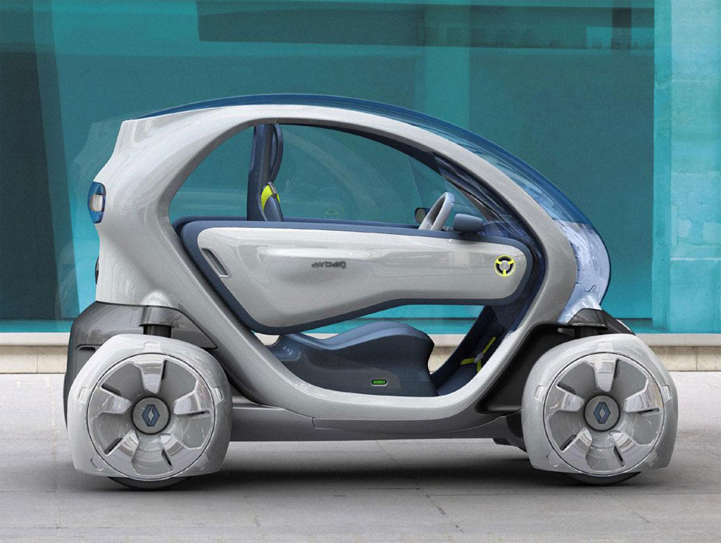 One Seater Car >> Frankfurt Auto Show: Renault Twizy ZE Concept [Live Photos] - autoevolution