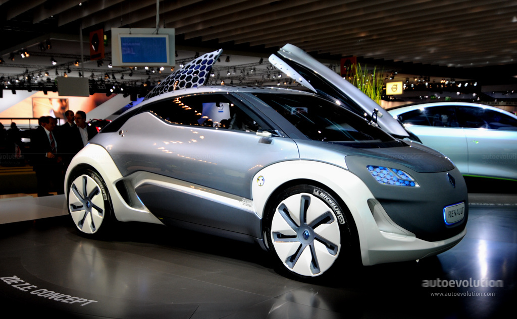 Frankfurt Auto Show Renault Zoe Ze Concept Live Photos