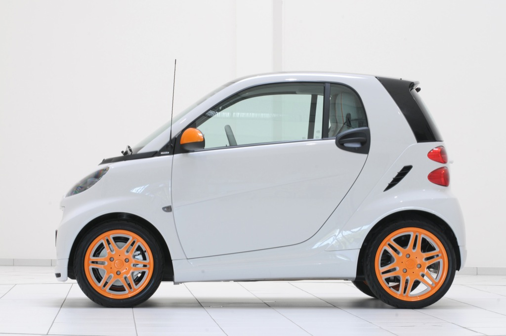 First Smart Brabus Tailor Made Concept Is On Display At The 2009 Frankfurt Auto Show This Week Offering A Preview Of New Product Design Service