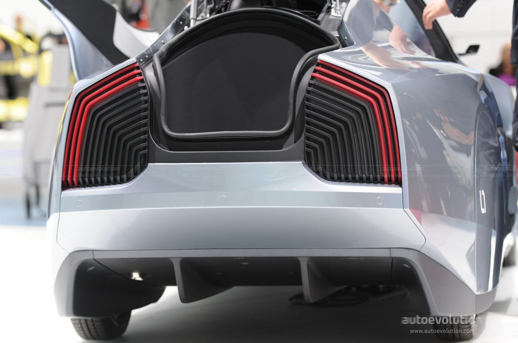 Frankfurt Auto Show: Volkswagen L1 Concept [Live Photos] - autoevolution