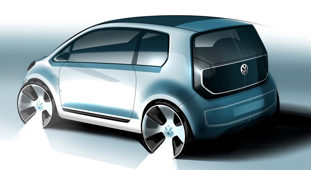 frankfurt auto show vw e up concept live photos autoevolution. Black Bedroom Furniture Sets. Home Design Ideas