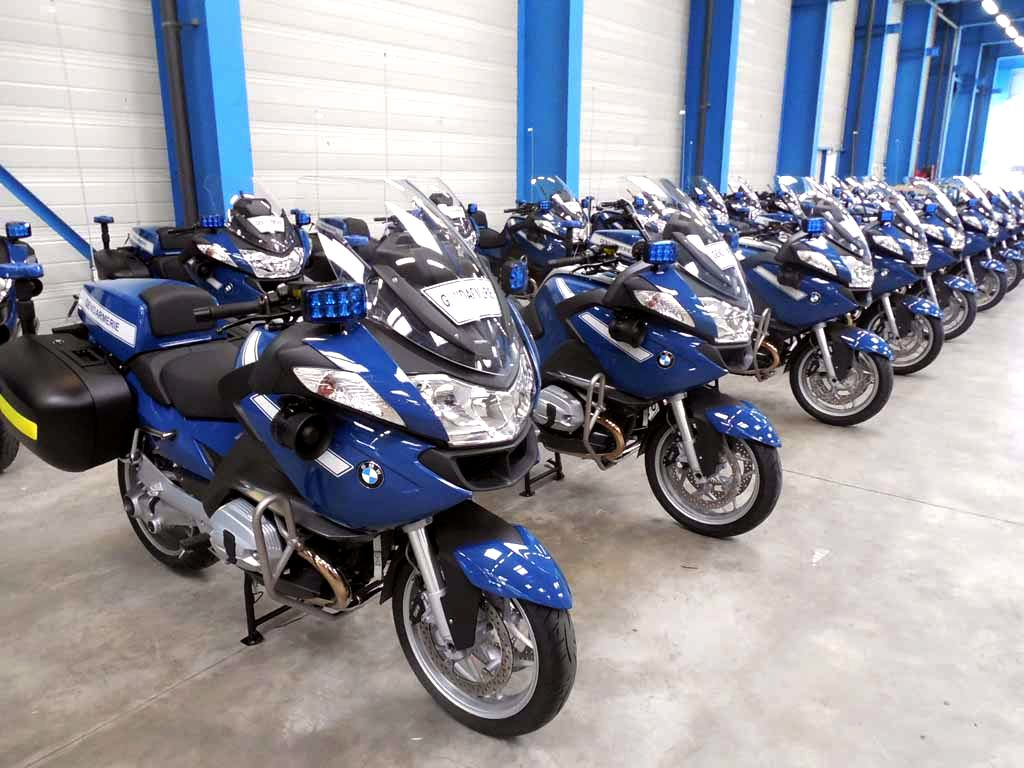 French Police Bmw Motorcycles