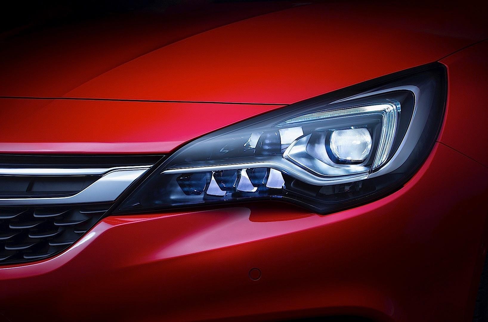 The blueprints com vector drawing opel astra k 5 door -  Opel Astra K