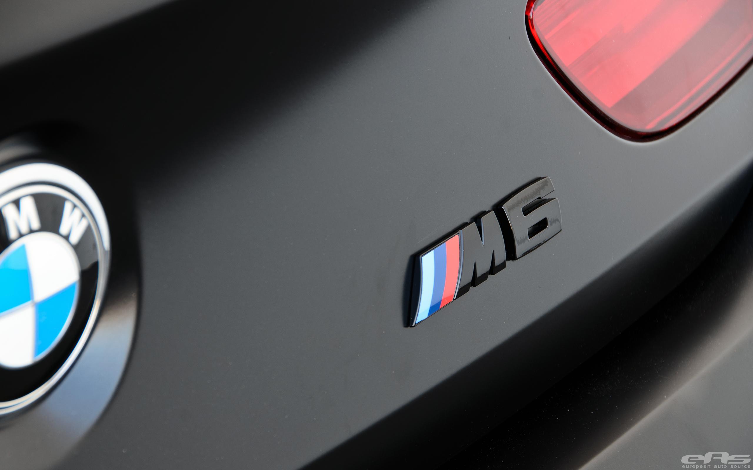 Frozen Black Bmw M6 Gran Coupe Is Breathtaking Autoevolution