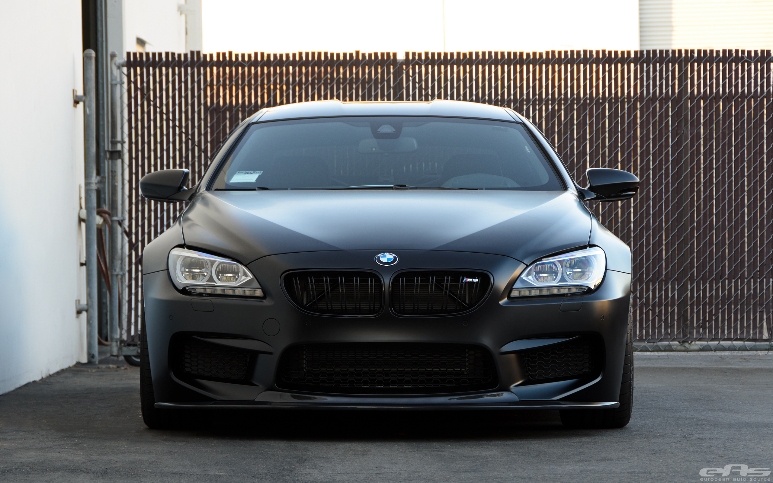 Frozen Black BMW M6 Gran Coupe