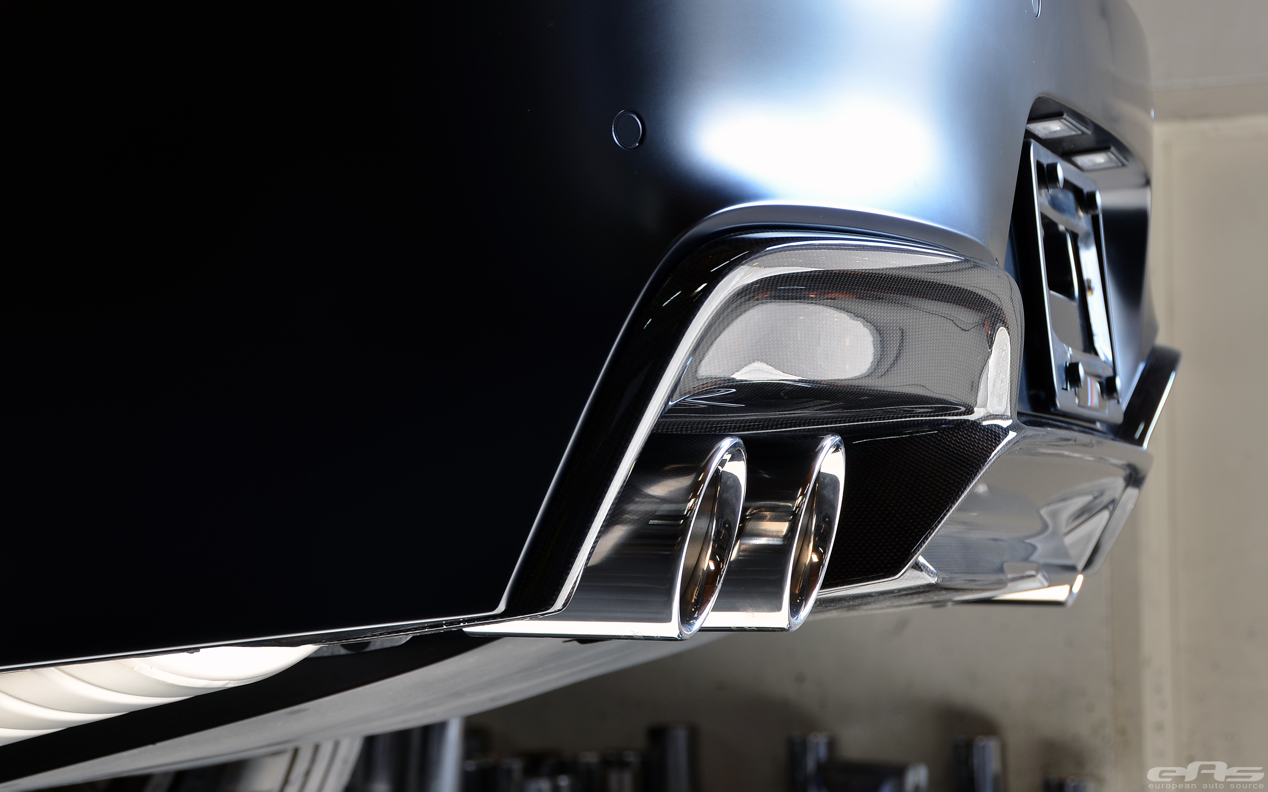 frozen black bmw gran coupe breathtaking autoevolution