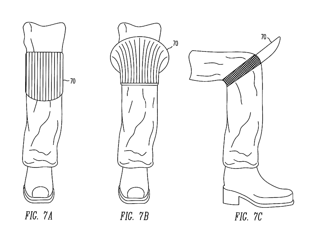 fun with patents  the knee air deflector