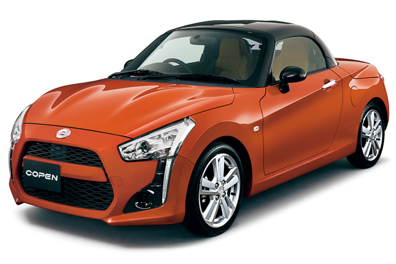 funky daihatsu copen gets fully revealed autoevolution. Black Bedroom Furniture Sets. Home Design Ideas