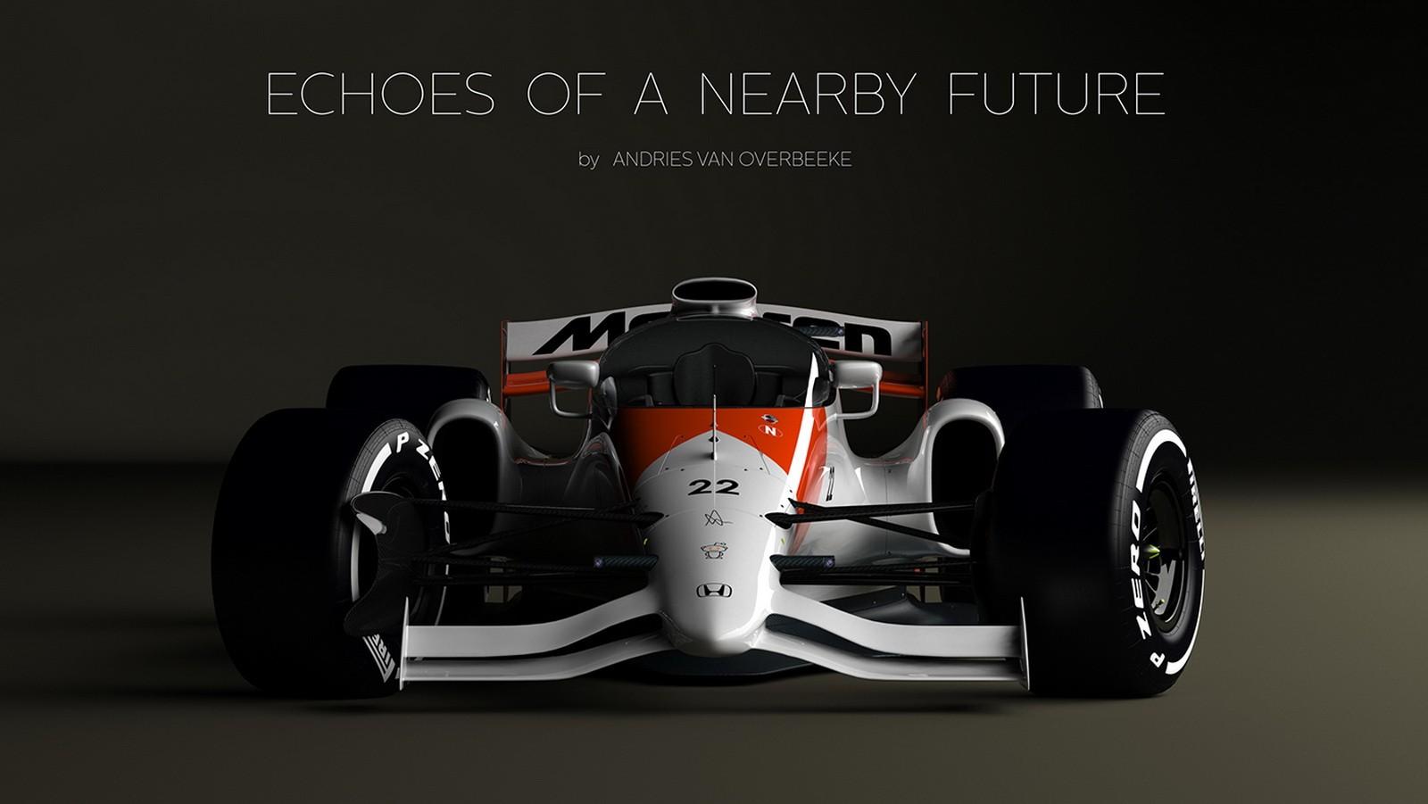 future formula 1 concept earns closed cockpit honda mclaren livery autoevolution. Black Bedroom Furniture Sets. Home Design Ideas