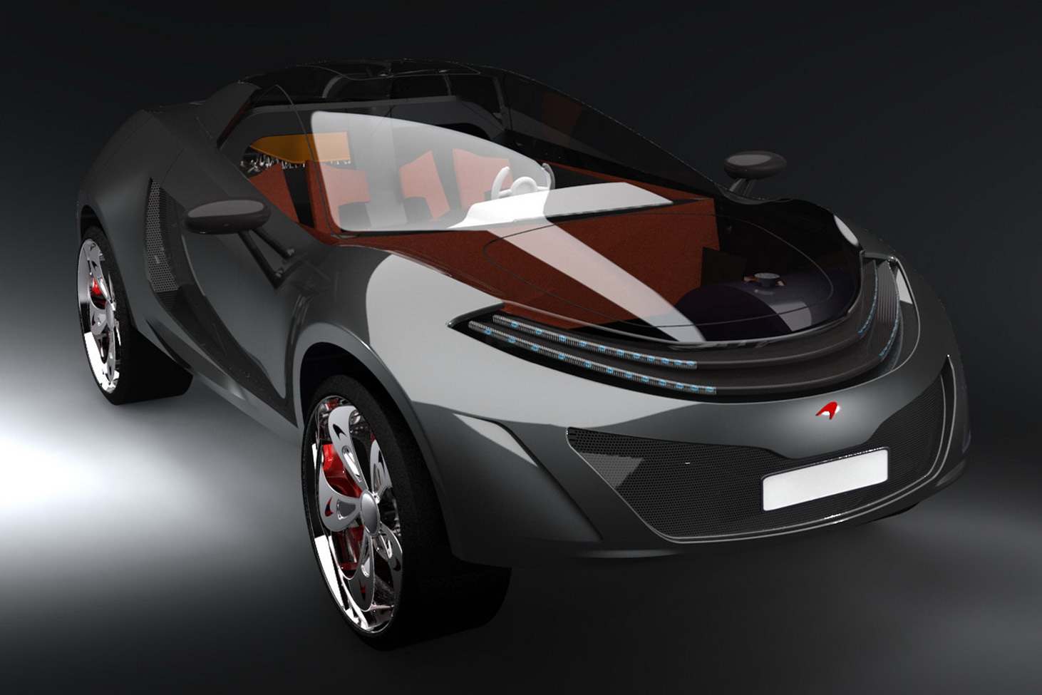 Future McLaren Range Imagined by IED Concepts - autoevolution