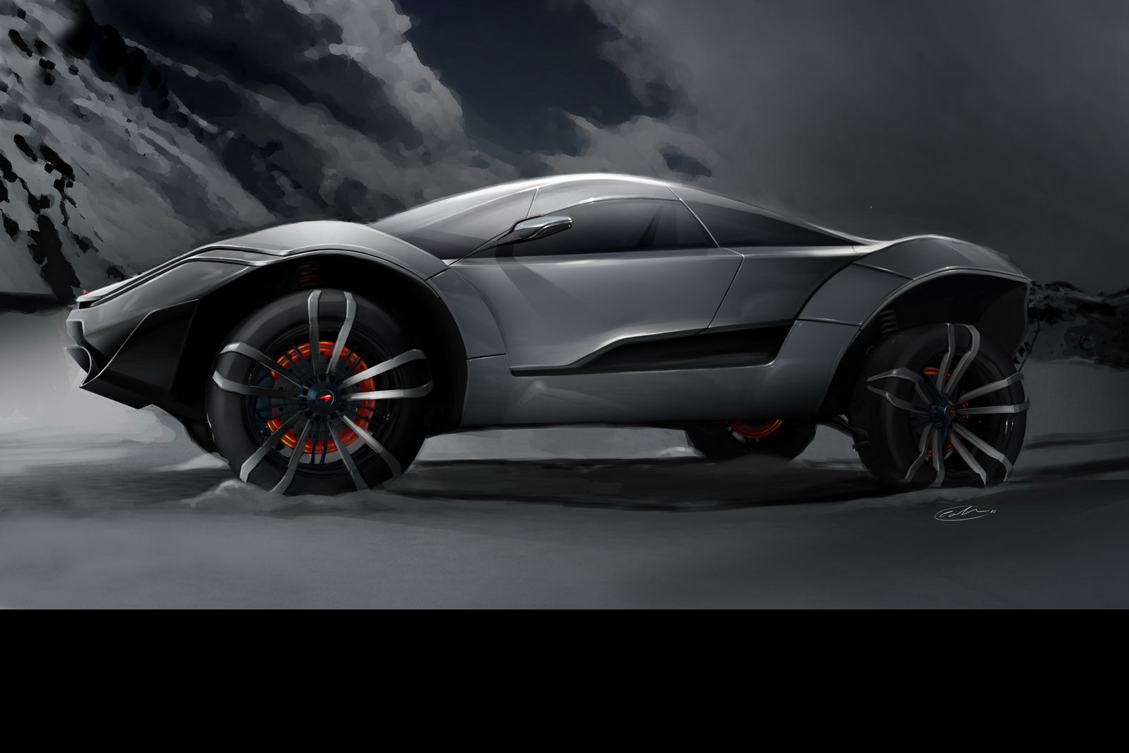 Best One Tire >> Future McLaren Range Imagined by IED Concepts - autoevolution