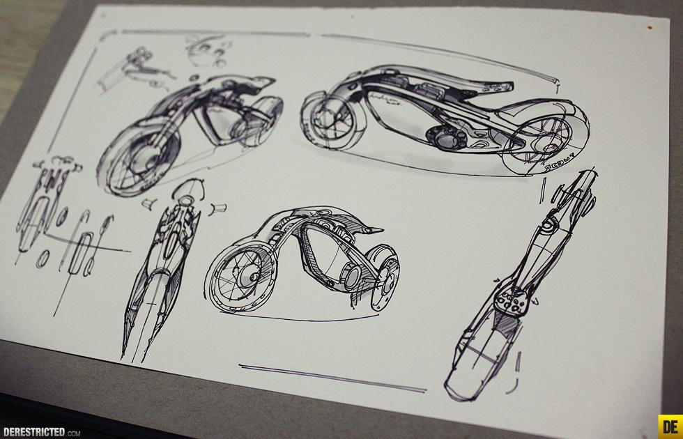 futuristic indian motorcycles bike concept by wojtek