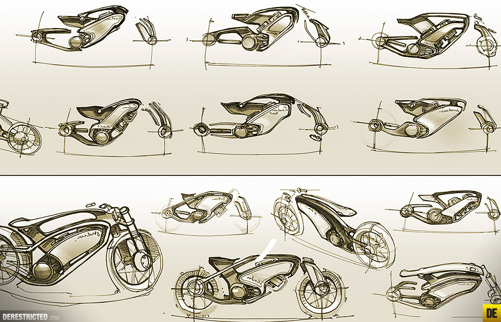 Futuristic Indian Motorcycles Bike Concept By Wojtek