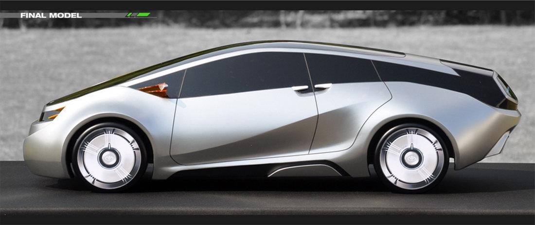 Концептуальный Toyota Prius 2015…