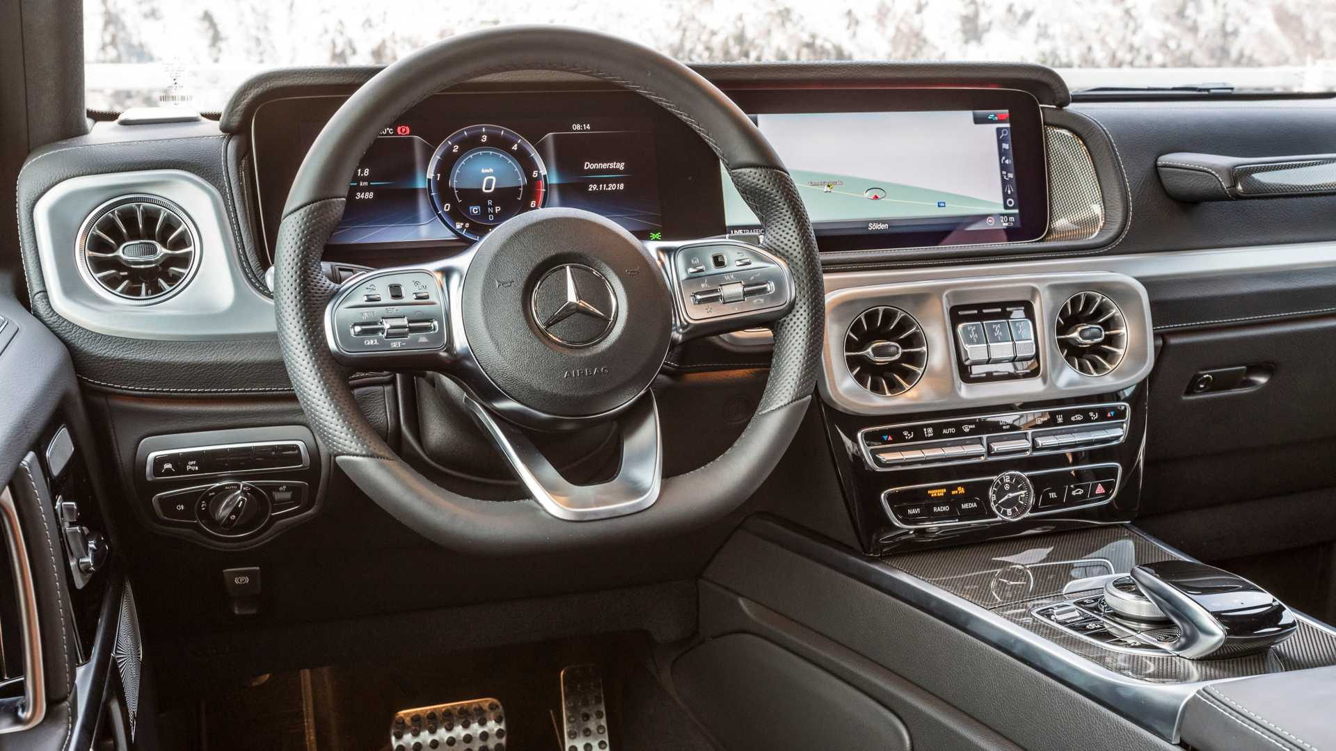 G 350 D Introduces OM 656 Turbo Diesel To 2019 Mercedes