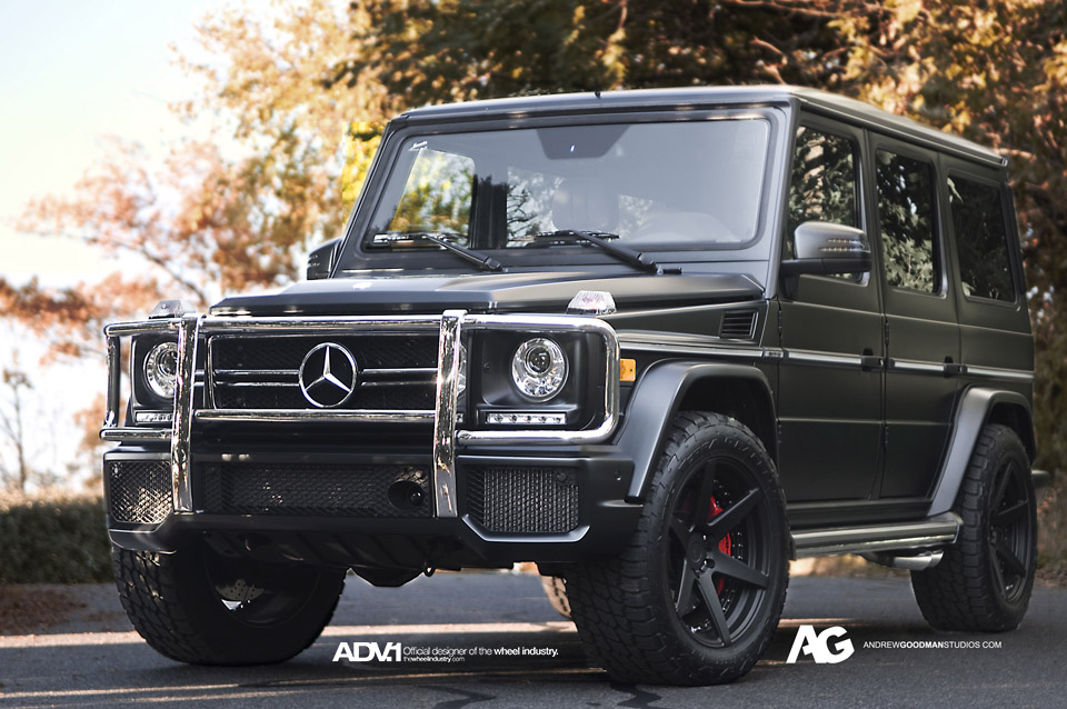 G 63 AMG Returns to Its Roots With Adv1 Wheels - autoevolution