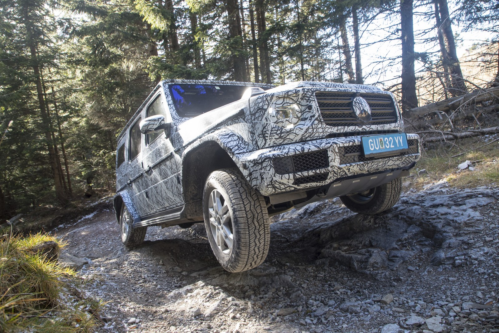 2019 Mercedes-Benz G-Class Previewed Doing The Off-Road ...