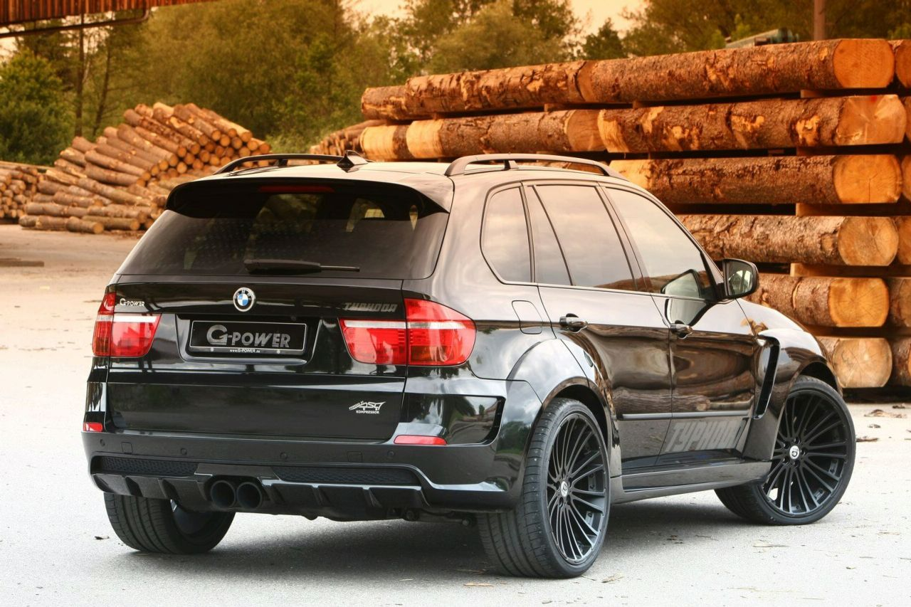 G power launched bmw x5 typhoon black pearl limited edition