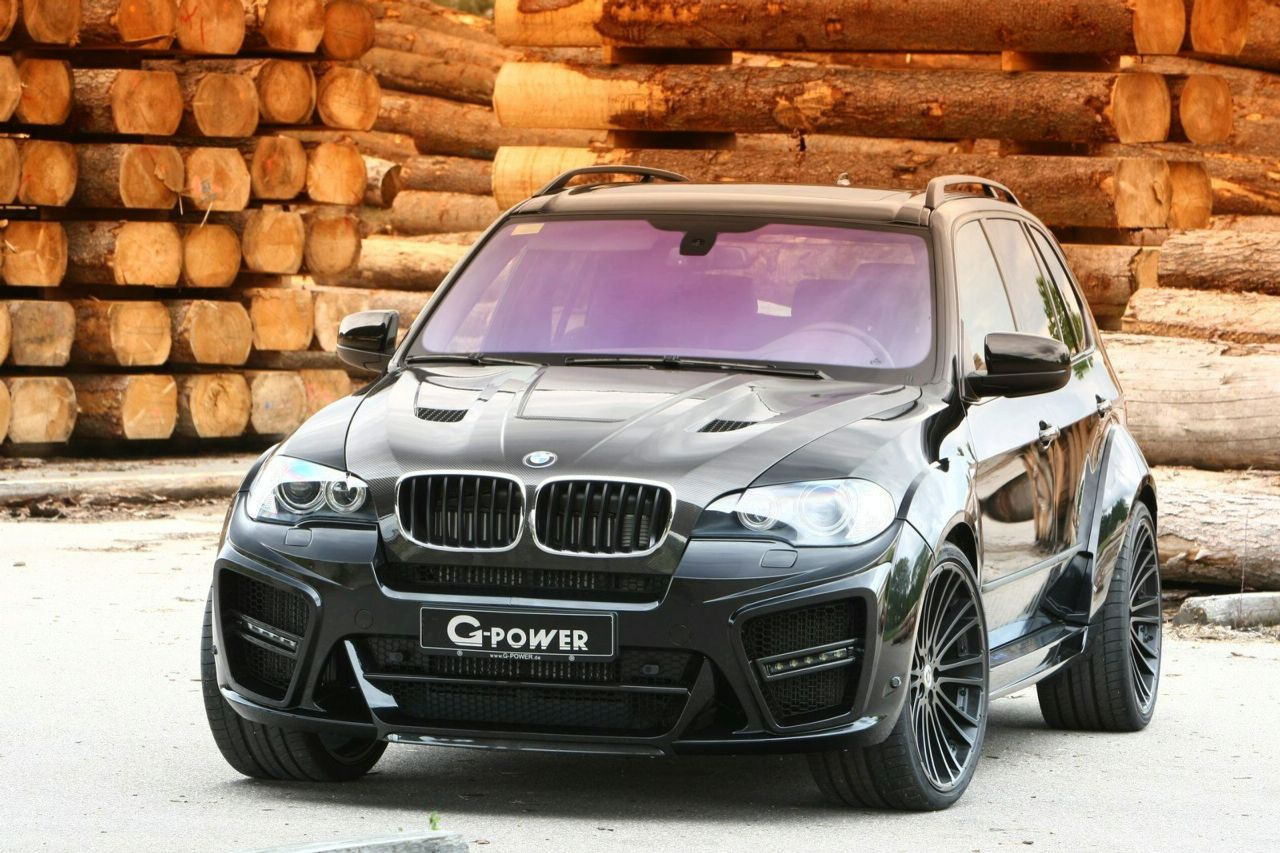G-Power Launched BMW X5 Typhoon Black Pearl Limited
