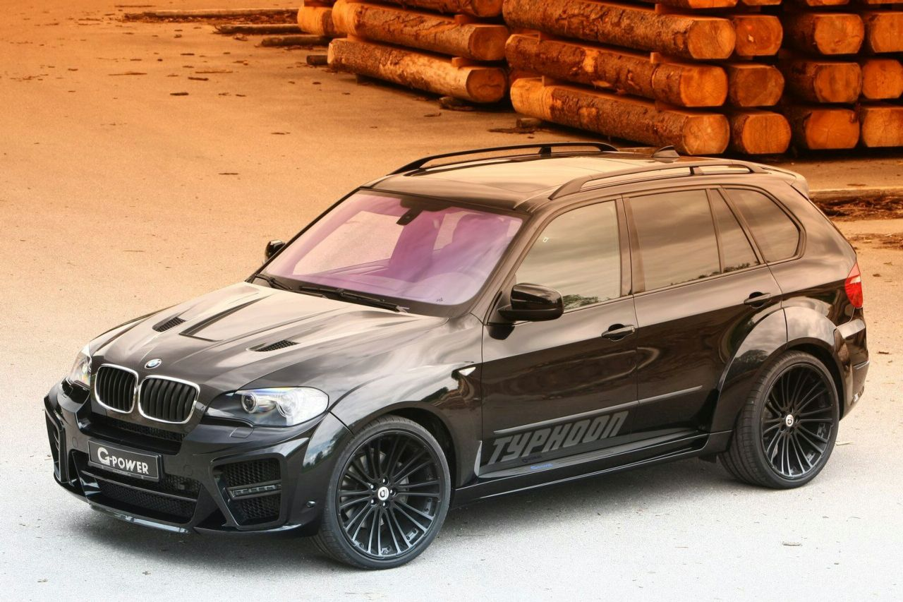 G Power Launched Bmw X5 Typhoon Black Pearl Limited