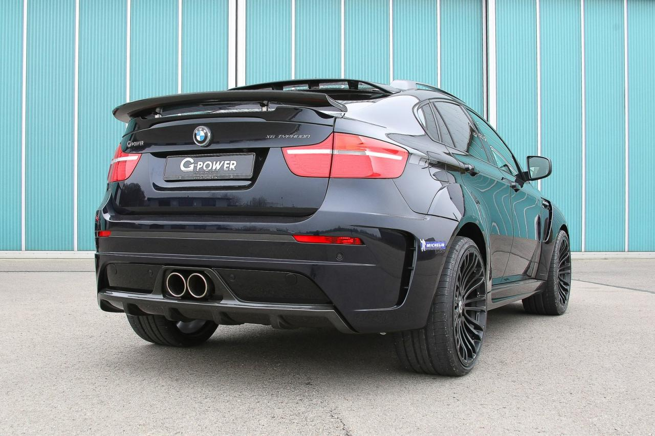 G Power X6 M Typhoon Delivers 725 Hp Autoevolution