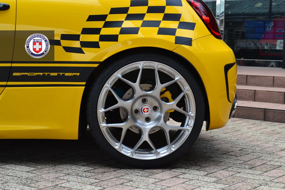 G Tech Fiat 500 Sportster On Hre Wheels Autoevolution