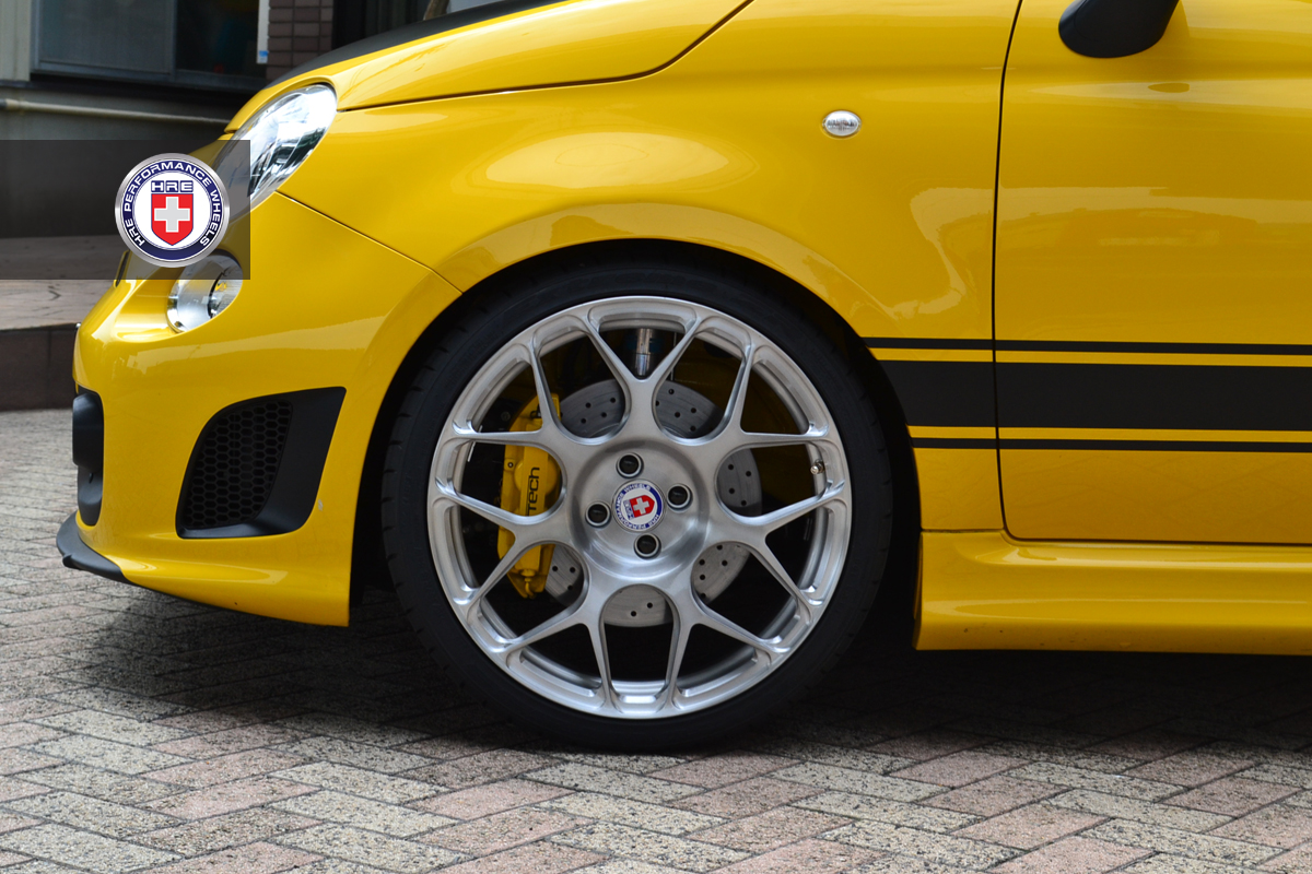 G Tech Fiat Sportster On Hre Wheels Photo Gallery
