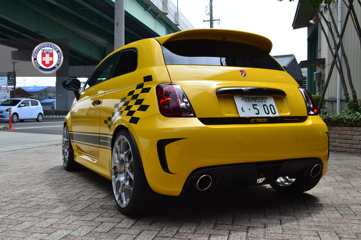 G Tech Fiat 500 Sportster On Hre Wheels Autoevolution