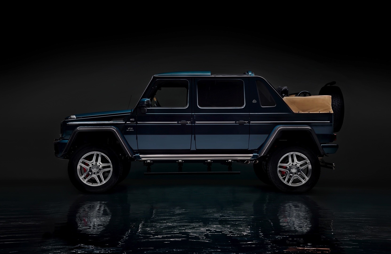 2018 mercedes maybach g650 landaulet is strictly limited for Mercedes benz maybach g650