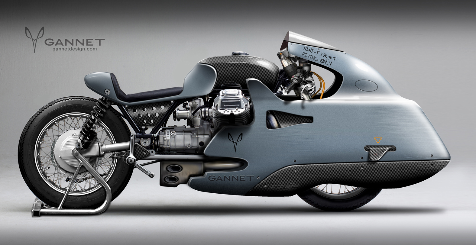 Gannet Design Moto Guzzi Sprinter Is A Truly Different
