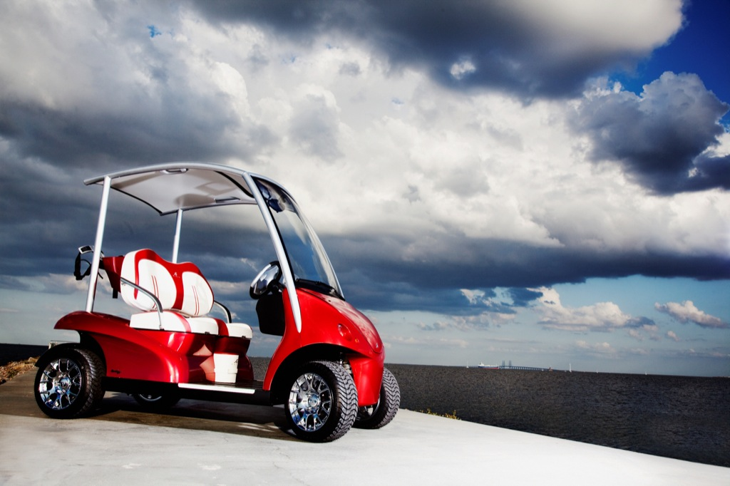 Garia Lsv The Street Legal Luxury Golf Cart Autoevolution