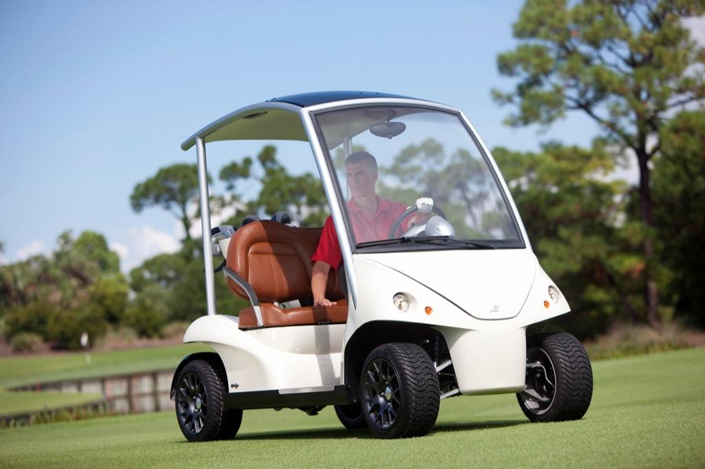 Garia Lsv The Street Legal Luxury Golf Cart Autoevolution